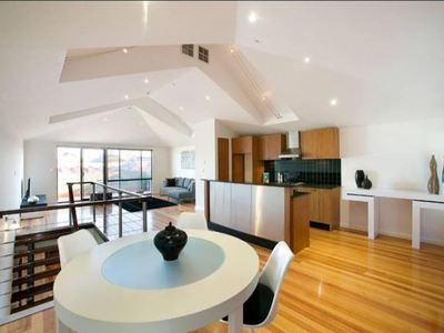 Townhouse Renovation Open Space Living Melbourne Bunja Group Maintenance Painting